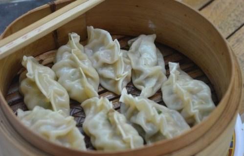 Pierożki chińskie, czyli kogucie grzebyki